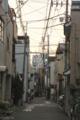 [東京][街角][路地]夕暮れの千駄木の路地 2012-05-26