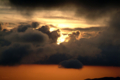 [空][雲][夕焼け]阿蘇 2004-07-17