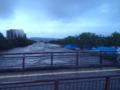 [熊本]大甲橋から見た白川 2012-07-12 08:43