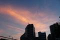 [空][雲][夕焼け]根津 2012-07-30 18:55:02