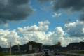 [空][雲]国道57号線 2011-08-27 14:59:35