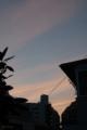 [空][雲][夕焼け]2012-08-09 18:40:32