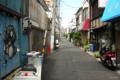 [東京][街角]お盆で人がいない根津銀座 2012-08-16