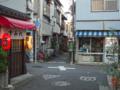 [東京][街角]根津 2012-08-24 18:00:09