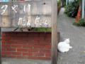 [東京][街角][猫]夕やけだんだん 2012-09-25 16:46:34