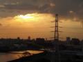 [空][雲][夕焼け]隅田川 2012-10-06 16:37:42