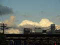 [空][雲][夕焼け]西日暮里駅前 2012-10-06 16:26:42