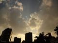 [空][雲][夕焼け]2012-10-22 15:55:05