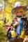 高尾山稲荷山コースにてジュディ 2012-11-09