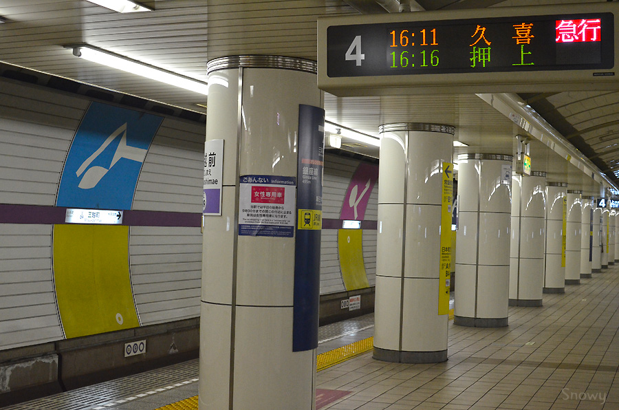 三越前駅 2012-11-05