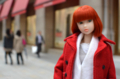 [doll][momoko DOLL]日本橋三越本店前にて