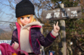 [doll][JeNnY]ジュディ@高尾山頂 2012-12-07