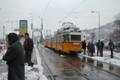 [ハンガリー]ブダペスト 中央市場前 2003-02-11