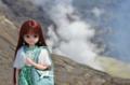 [Licca][doll]リカちゃん@阿蘇中岳第一火口 2013-05-25