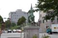 [熊本]八丁馬場の加藤清正像 2013-05-27