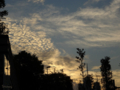 [空][雲][夕焼け]淡路坂 2013-07-20