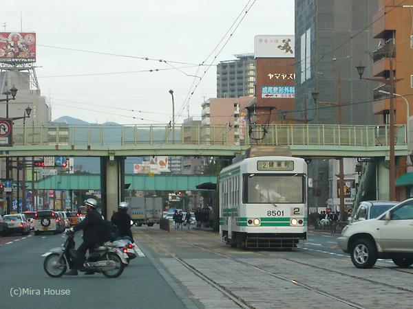 [電車][路面電車][熊本市電]