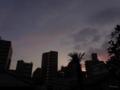 [空][月][夕焼け]2013-09-09