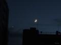 [月][星]月と金星 2013-10-08 17:47:56
