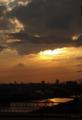 [東京][夕焼け]隅田川 2012-10-06 16:38:41
