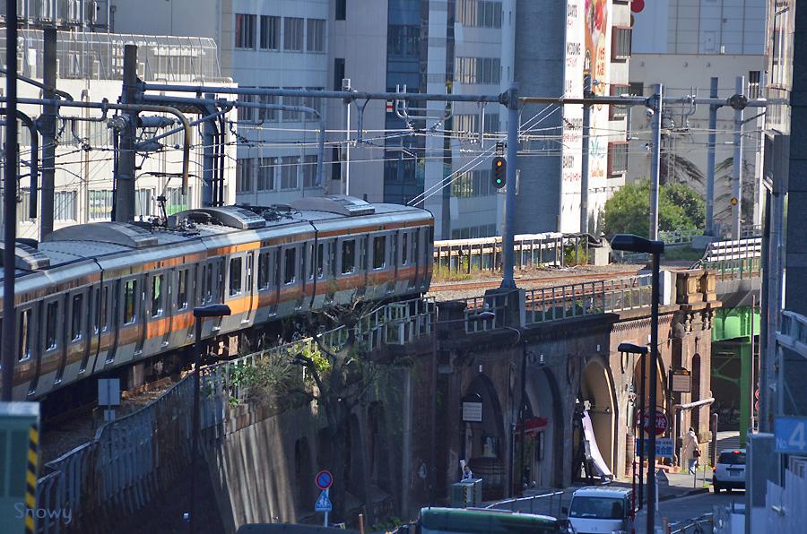 中央線@御茶ノ水 2012-11-20