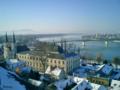 [ハンガリー]マリア・ヴァレリア橋 Esztergom 2003-02-12