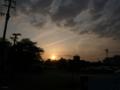 [空][雲][夕焼け]2009-05-02