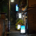 [東京][街角][夜景]根津 2013-03-19