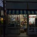[東京][街角][夜景]根津 2012-02-24