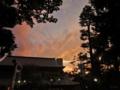 [空][雲][夕焼け]上野公園 2014-09-20