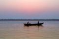 [インド]ガンジス川の夜明け 1995-10