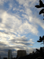 [空][雲][朝焼け]2014-10-14 台風一過の朝