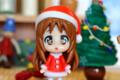 [おまけ][クリスマス]伊藤園「お~いお茶」サンタフィギュア 山中さわ子