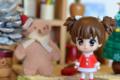 [おまけ][クリスマス]伊藤園「お~いお茶」サンタフィギュア 鈴木純