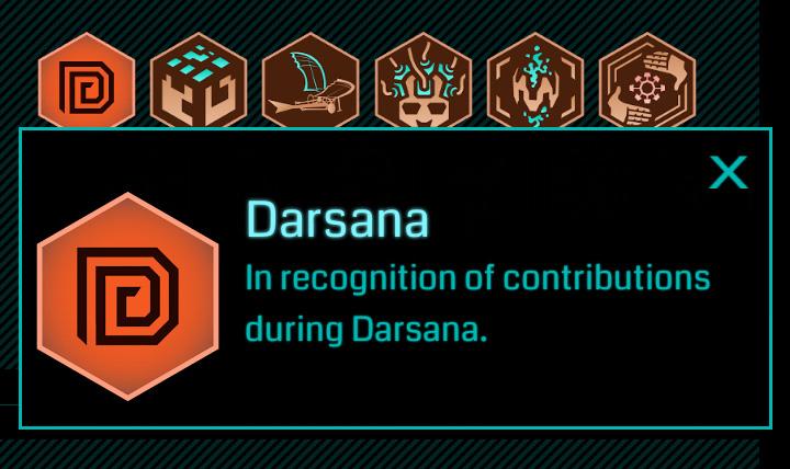 Darsanaメダル 2