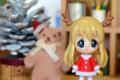 [おまけ][クリスマス]伊藤園「お~いお茶」サンタフィギュア 琴吹 紬