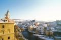 [チェコ]チェスキー・クルムロフ城から 2003-02-14