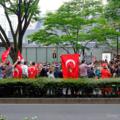 [東京]オスマン軍楽隊パレード 2015-06-06
