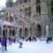 ウィーン市庁舎前のスケートリンク 2003-02-14