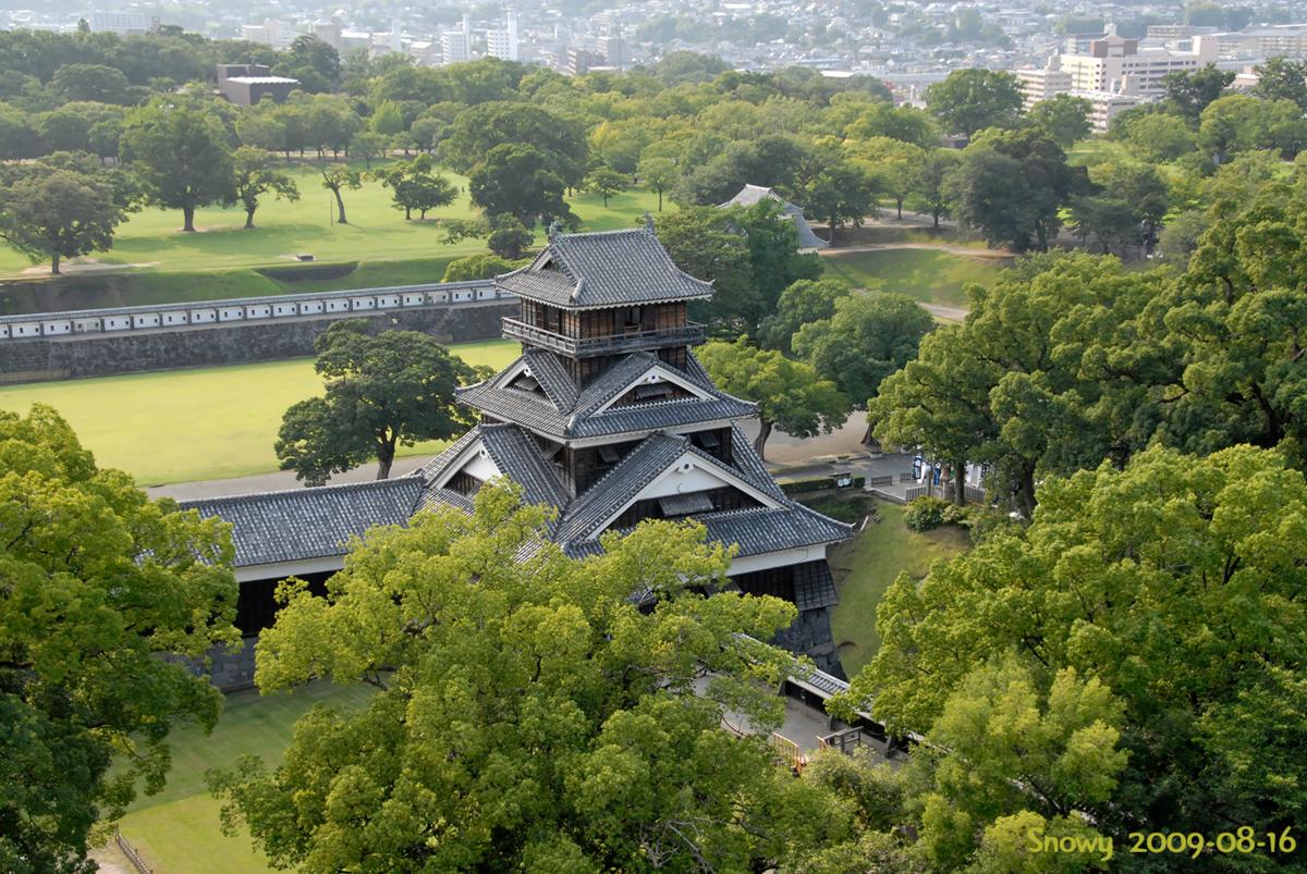 熊本城宇土櫓 2009-08-16