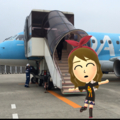 [game][Miitomo]県営名古屋空港 2016-08-18