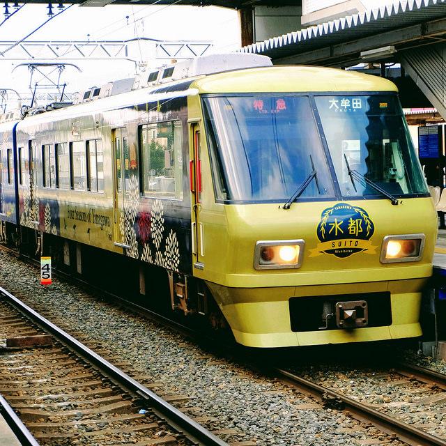 柳川観光列車 水都 2017-02-14