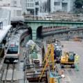 [東京][駅]聖橋から御茶ノ水駅 2016-03-11