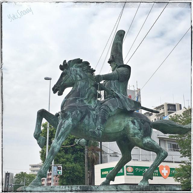 加藤清正騎馬像(2017-04-27)