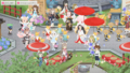 [game][ニコッとタウン]カグラと新郎の花嫁行列パレード