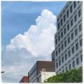 [空][雲][街角]福岡市(2017-07-19)