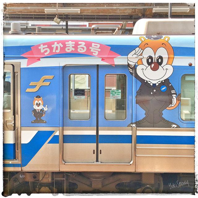 福岡市地下鉄 ちかまる号 (2017-07-27)