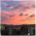 [空][雲][夕暮れ]台風の宵(2017-08-05)