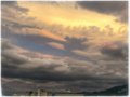 [空][雲][夕暮れ]2017-08-06