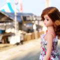 [福岡][doll]織江さん@海っぴビーチ(2017-08-17)